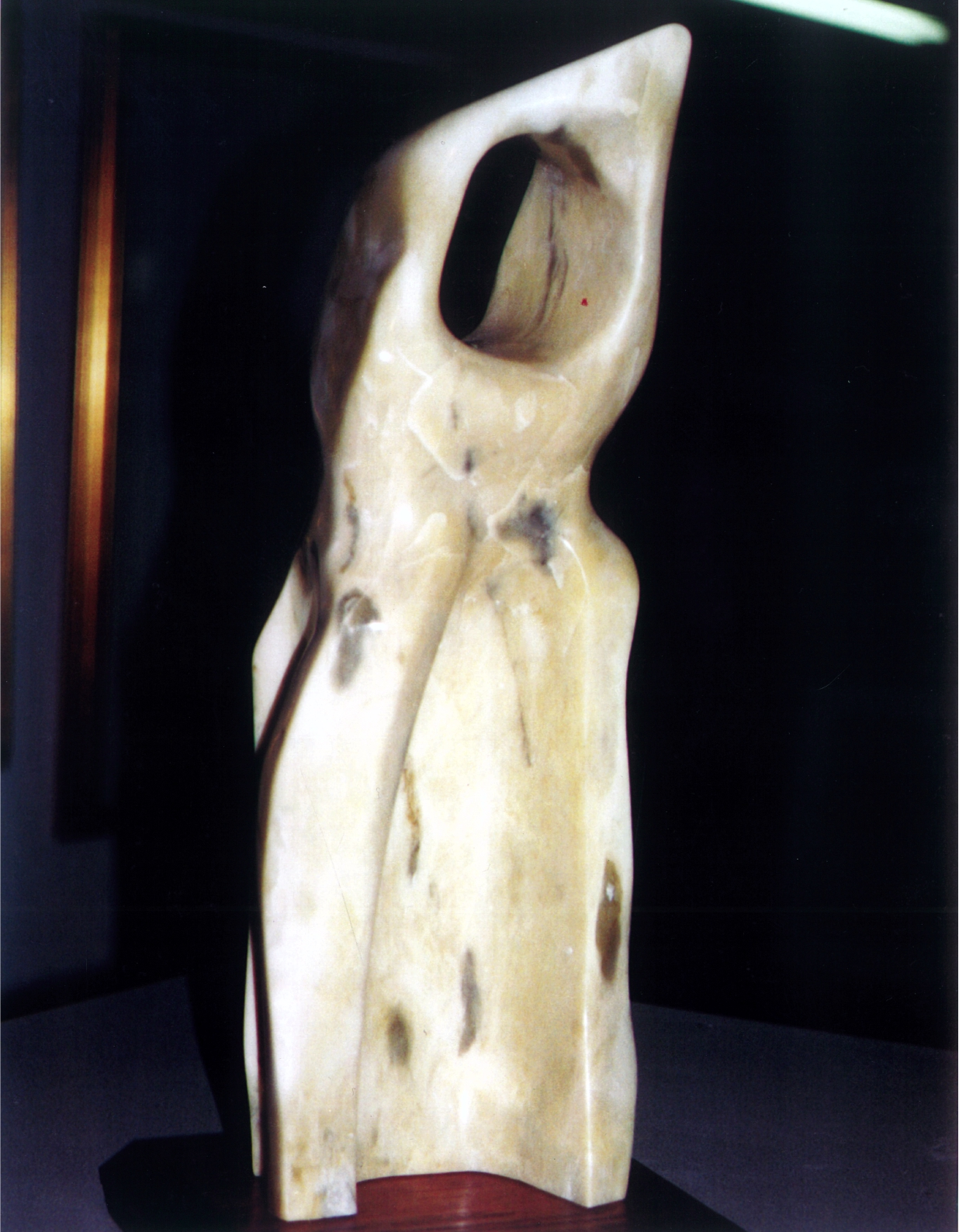 The Habit - 1998 - Carved from Newfoundland Soapstone. Artist: Steven Zimmerman